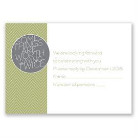 Wedding Response Cards: Worth It Response Card