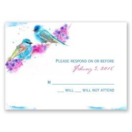 Watercolor Pair - Response Card