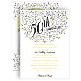 Anniversary Party Invitations Invitations By Dawn