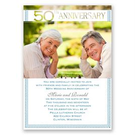 Grand Presentation - 50th Anniversary Invitation