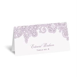Lacy Corners - Place Card