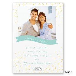 Holiday Confetti - Photo Holiday Card