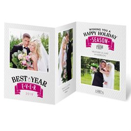 Best Year Ever - Photo Holiday Card