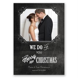 Christmas Vows - Photo Holiday Card