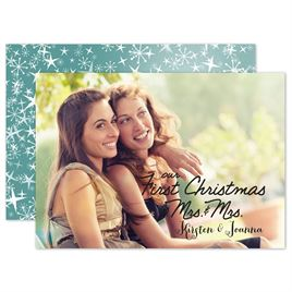 Holiday Cards for Newlyweds: 