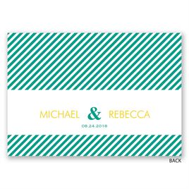 Candy Striped - Mitzvah Invitation