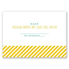 Candy Striped - Response Card