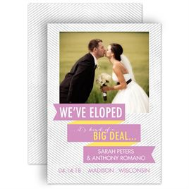 Elopement Announcements Invitations By Dawn