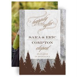 Elopement Announcements | Invitations By Dawn