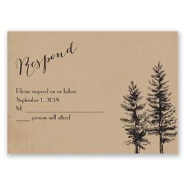 Spruced Up - Response Card