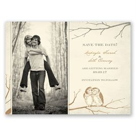 Boho Save the Dates: 