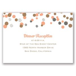We Spotted Love - Silver - Foil Reception Card