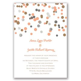 We Spotted Love - Silver - Foil Invitation