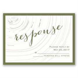 Promise Rings - Silver - Foil Response Card