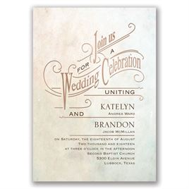 Simply Dreamy - Rose Gold - Foil Invitation