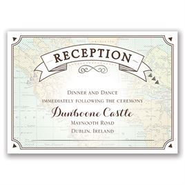 Taking Flight - Silver - Foil Reception Card