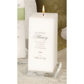 Memorial Candles Vases and Frames: 
