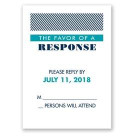 Modern Typography - Response Card