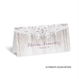 Country Affair - Escort Card