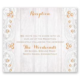 Country Affair - Pocket Reception Card