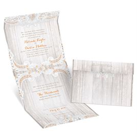 Country Affair Seal and Send Invitation