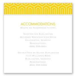 Modern Dream - Pocket Accommodations Card