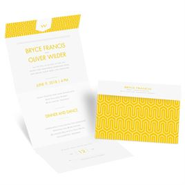 Simple Wedding Invitations: 