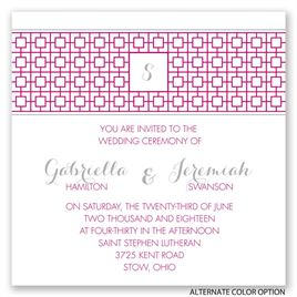 Geo Chic - Invitation