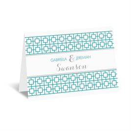 Geo Chic - Thank You Card