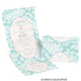 Lace Love - Seal and Send Invitation