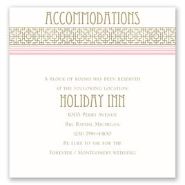 Sweet Romance - Pocket Accommodations Card