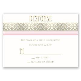 Sweet Romance - Response Card