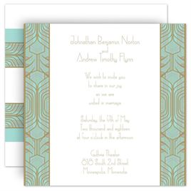 art deco wedding invitations wedding decor ideas