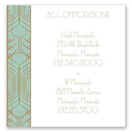 Grand Presentation - Pocket Accommodations Card