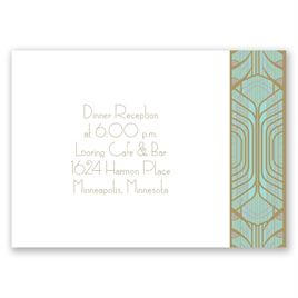 Grand Presentation - Reception Card