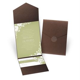 Sweet Dreams - Brown Shimmer - Pocket Invitation
