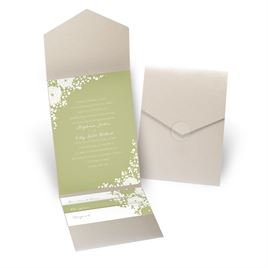 Sweet Dreams - Gold Shimmer - Pocket Invitation