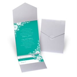 Sweet Dreams - Silver Shimmer - Pocket Invitation