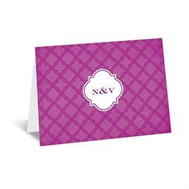 Exotic Orchid - Thank You Card