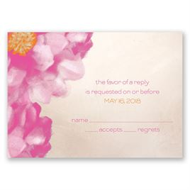 Spanish Poppy - Response Card