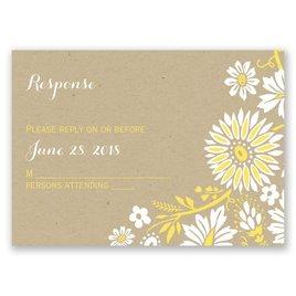 Prairie Floral - Response Card