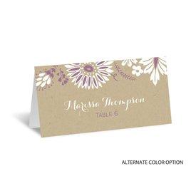 Prairie Floral - Escort Card