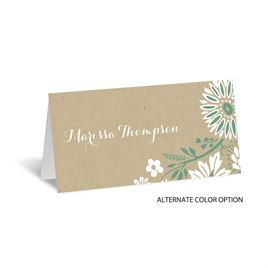Prairie Floral - Place Card