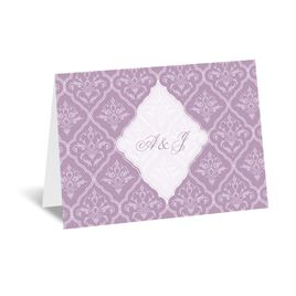 Classic Romance - Thank You Card