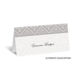 Classic Romance - Place Card