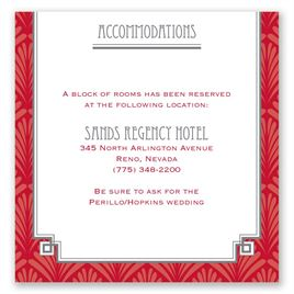 Forever Vintage - Pocket Accommodations Card