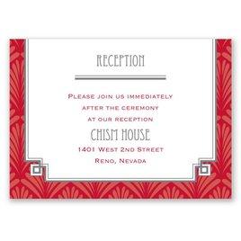 Forever Vintage - Reception Card