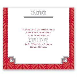 Forever Vintage - Pocket Reception Card