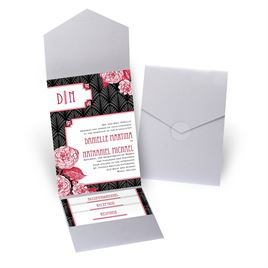 Forever Vintage - Silver Shimmer - Pocket Invitation