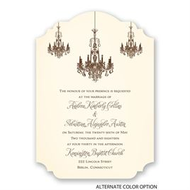 Ballroom Beauty - Invitation
